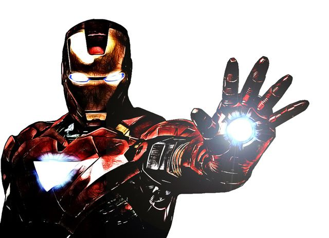 avengers Talk to the Hand iron man digital artwork