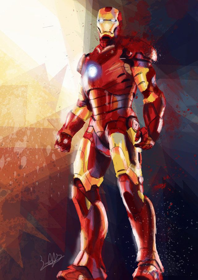 marvel Iron Man by Eriya digital artwork