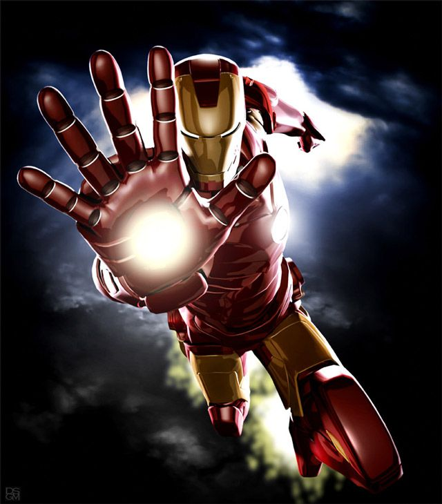 marvel Iron Man Iconicdigital artwork