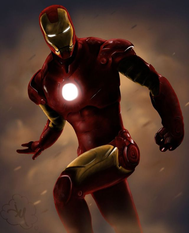 avengers Iron Man by Jdotjam digital artwork