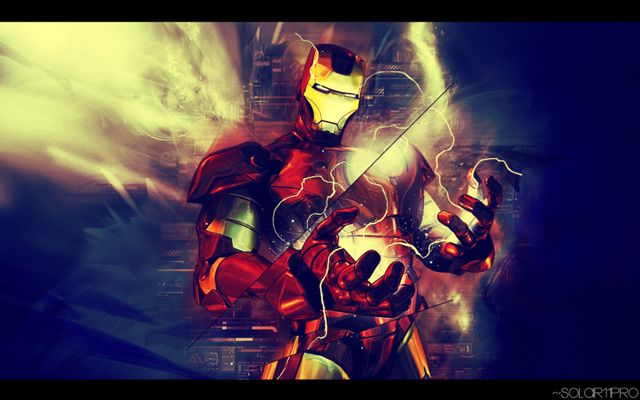 marvel digital Iron Man  artwork