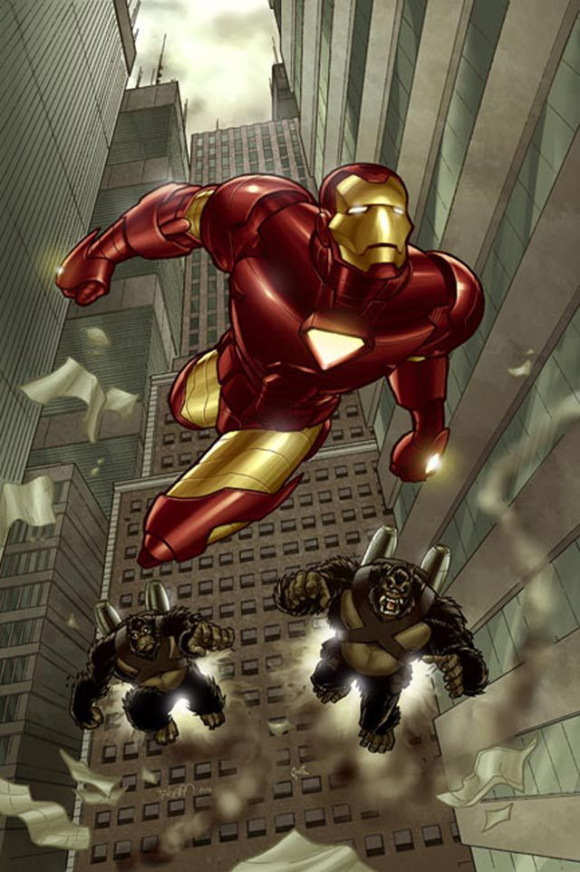 marvel Iron Man by Fernandogoni digital artwork