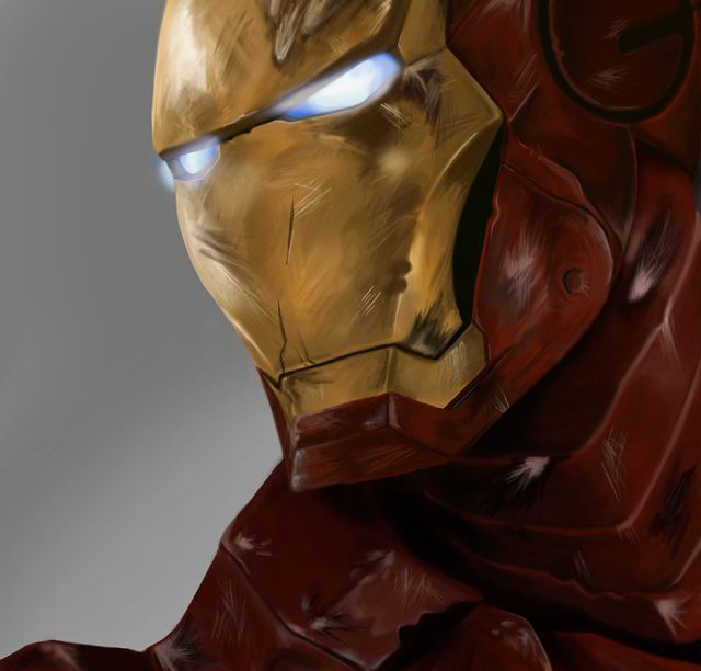marvel Iron Man by Kyoji digital artwork