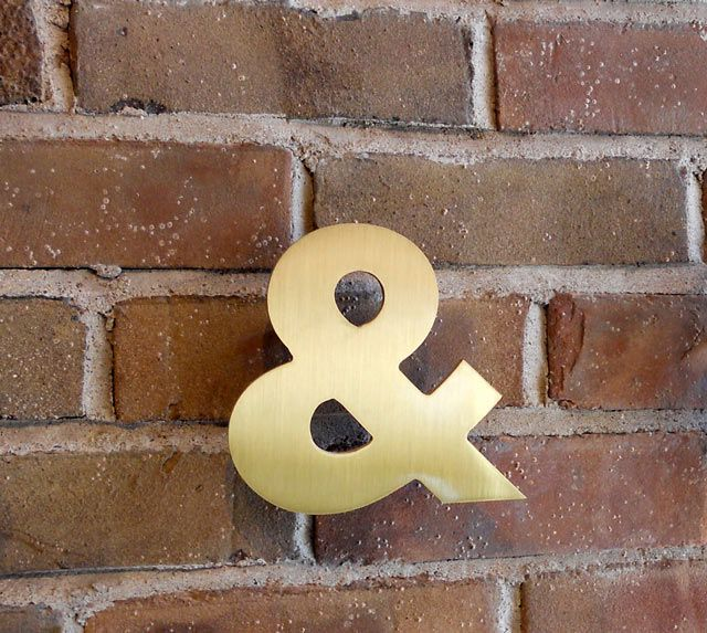 Ampersand to Wall