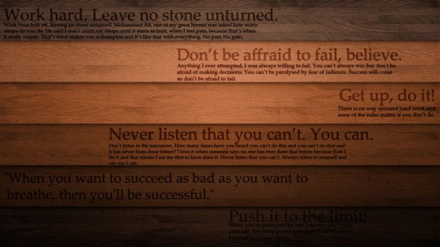 motivational wallpaper