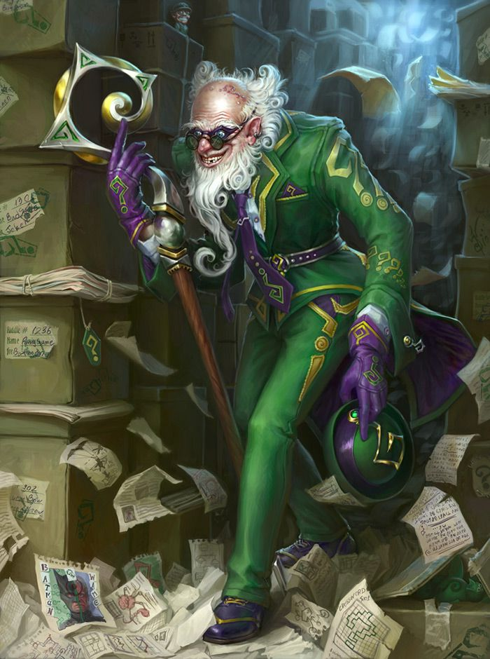 The Riddler Digital Gallery