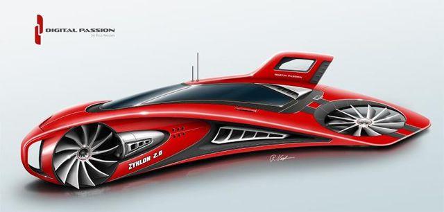 Zyklon 2.0 Concept Car