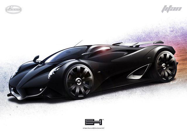 Pagani Titan Concept Car
