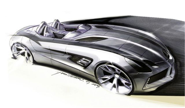 Mercedes-Benz McLaren SLR Concept Car