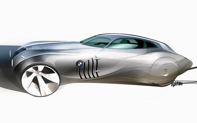 BMW Mille Miglia Concept Car