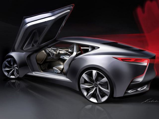 Hyundai Genesis Coupe Concept Car