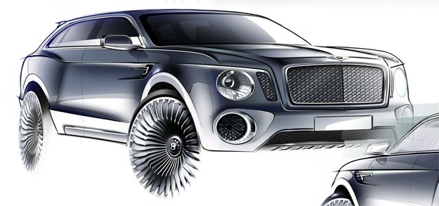 Bentley EXP 9 F concept cars designers