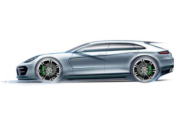 Porsche's Sport Turismo cars designers