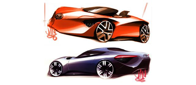 Toyota FT-HS cars designers