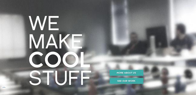 clean web design TeamGeek Design Company screenshot inspiration