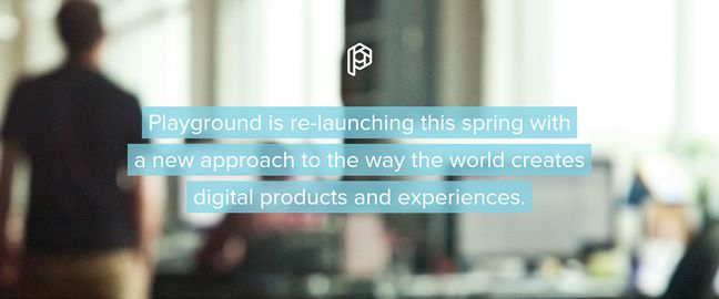 clean web design Playground Inc. Design Company screenshot inspiration