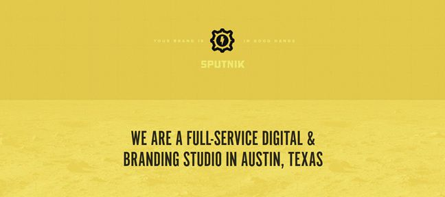 clean design Sputnik Creative Design Company
