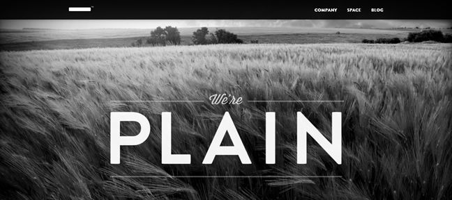clean design Plain Design Company