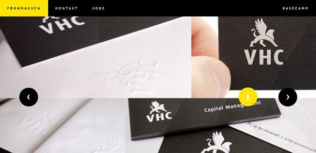 clean design I <3 FR Design Company screenshot inspiration