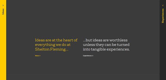 clean agency design Shelton Fleming Design Company
