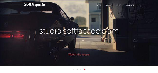 clean agency design SoftFacade Design Company