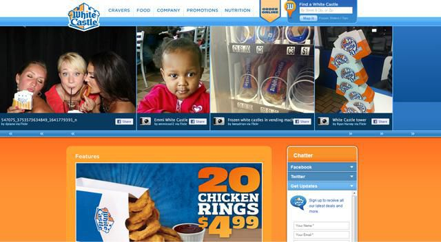White Castle Homepage