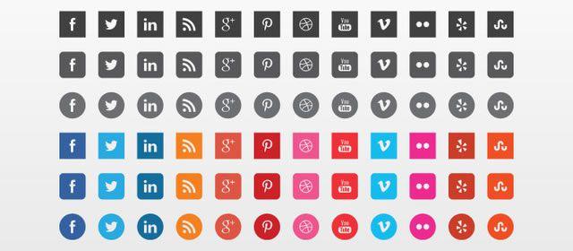 Vector Social Icons
