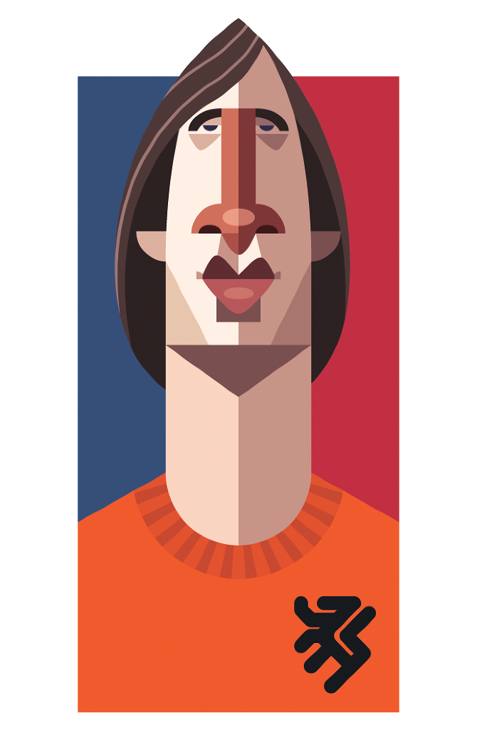 playmakers illustration football cruyff