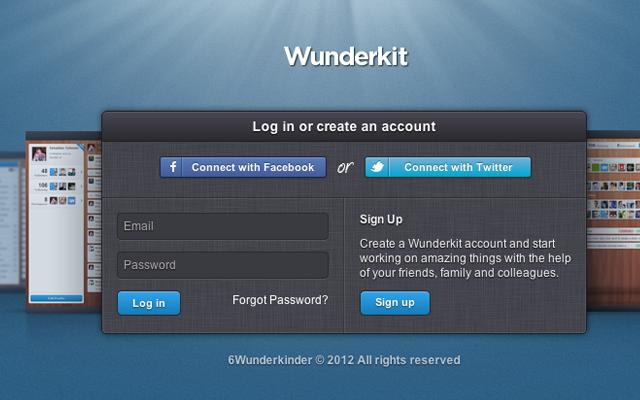 wunderlist online todo list webapp