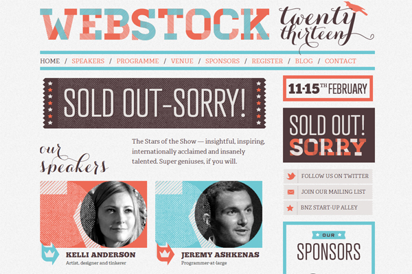 Webstock - Washed Out/ Pastel Web Inspiration