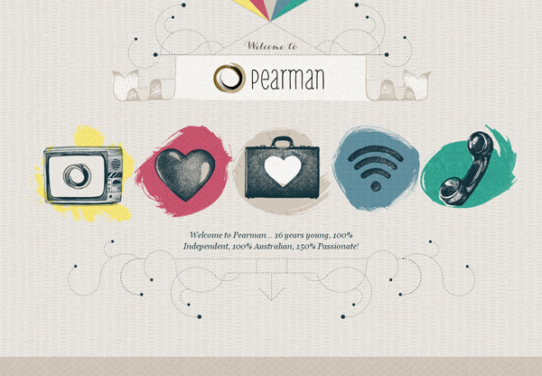 Pearman - Washed Out/ Pastel Web Inspiration