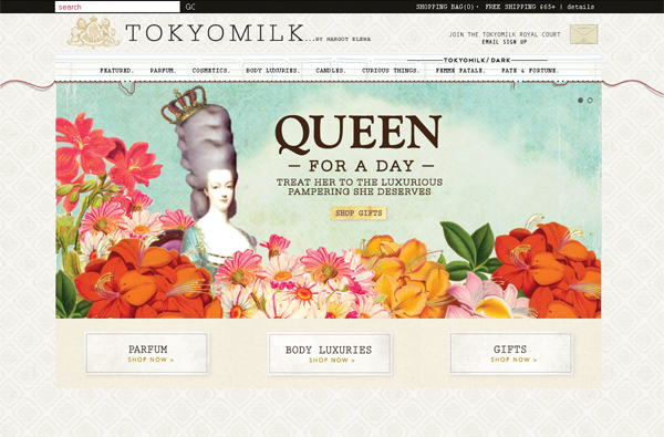 Tokyo Milk - Washed Out/ Pastel Web Inspiration