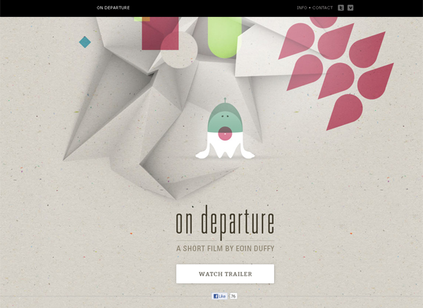 On Departure - Washed Out/ Pastel Web Inspiration