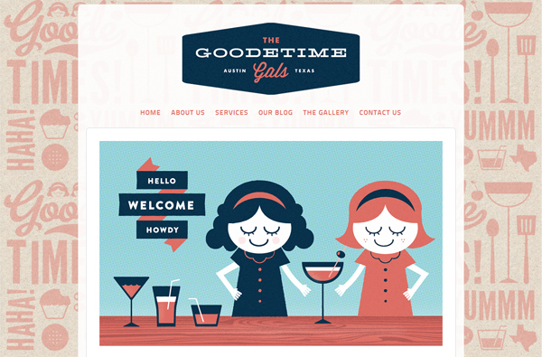 The Goodetime Gals - Washed Out/ Pastel Web Inspiration