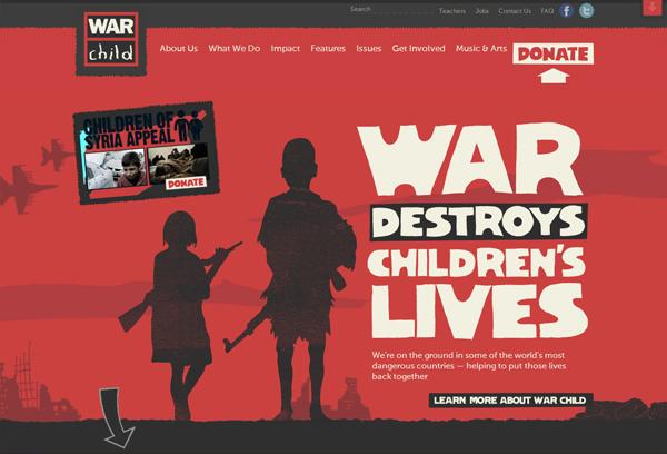 War Child - Washed Out/ Pastel Web Inspiration