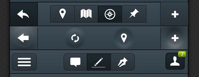 10 Navigation Bars - Web Design Freebies