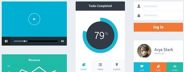 Flat UI Kit - Web Design Freebies for Web Designers