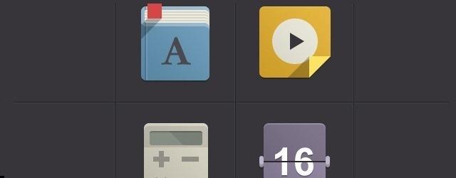 Flat Design Icon Set - Web Design Freebies