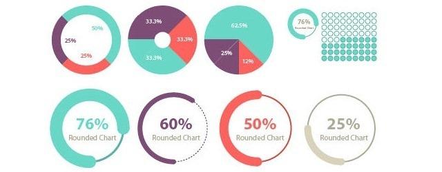 100+ Infographic Elements - Web Design Freebies