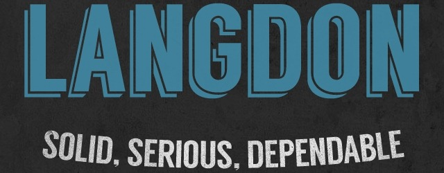 Langdon - Free Modern Font - Web Design Freebies