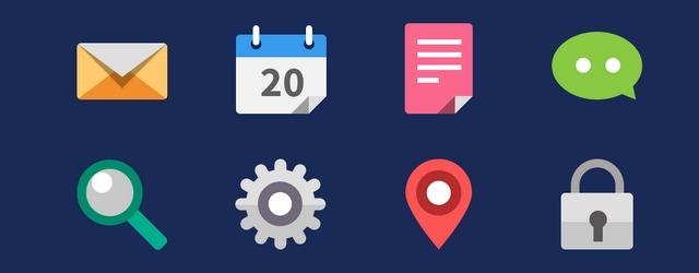20 Flat Icons - Web Design Freebies