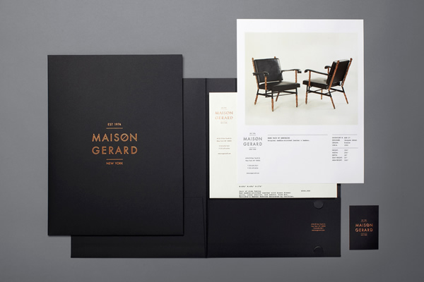 Maison Gerard Branding by Mother New York - Branding Inspiration