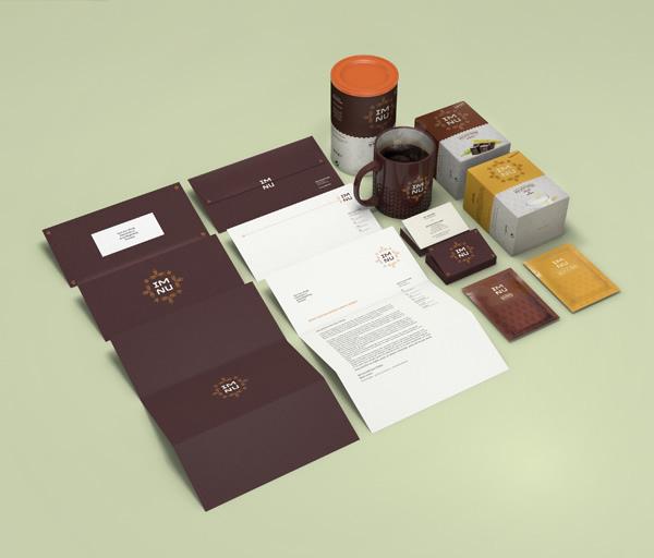 im nu  Branding by Julian Hrankov - Branding Inspiration
