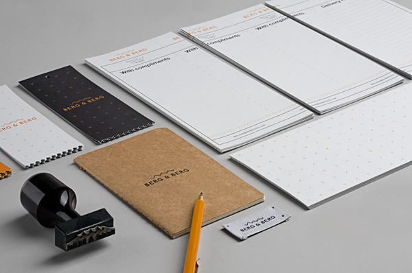 Berg & Berg Branding by Heydays - Branding Inspiration