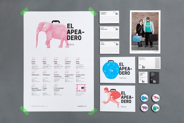 El Apeadero by Colectivo Verbena - Branding Inspiration