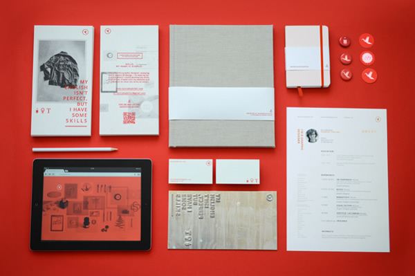 Self Promotion Materials by Konrad Sybilski - Branding Inspiration