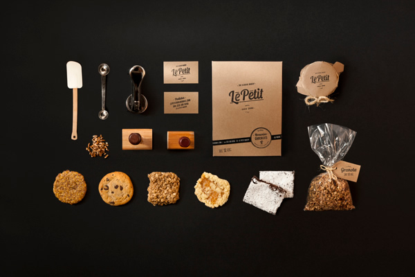 Le Petit Bakery by Manuel Navarro Orozco - Branding Inspiration