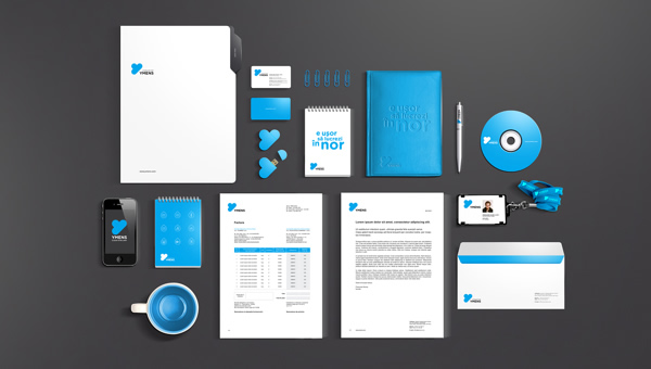 25 inspirational examples of brand presentation, Powerpoint templates