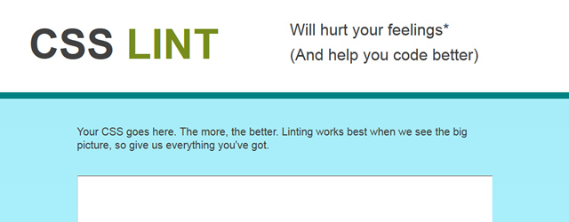 CSS Lint- Helps Find Issues With Your CSS code