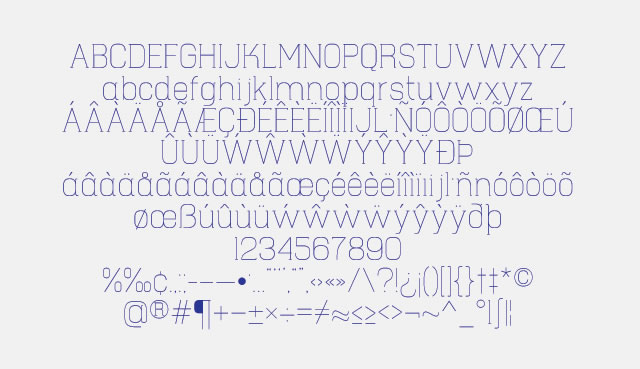 Hapna Mono is a Free Font for Headlines